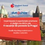 CONCURS: Câștigă 4 vacanțe de poveste la Praga cu experiența din America!