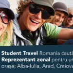 Student Travel Romania cauta Reprezentant Zonal